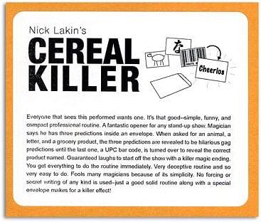 Cereal Killer trick Nick Lakin - magic