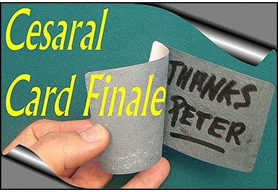 Cesaral Card Finale - magic
