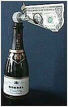 Champagne Surprise trick - magic