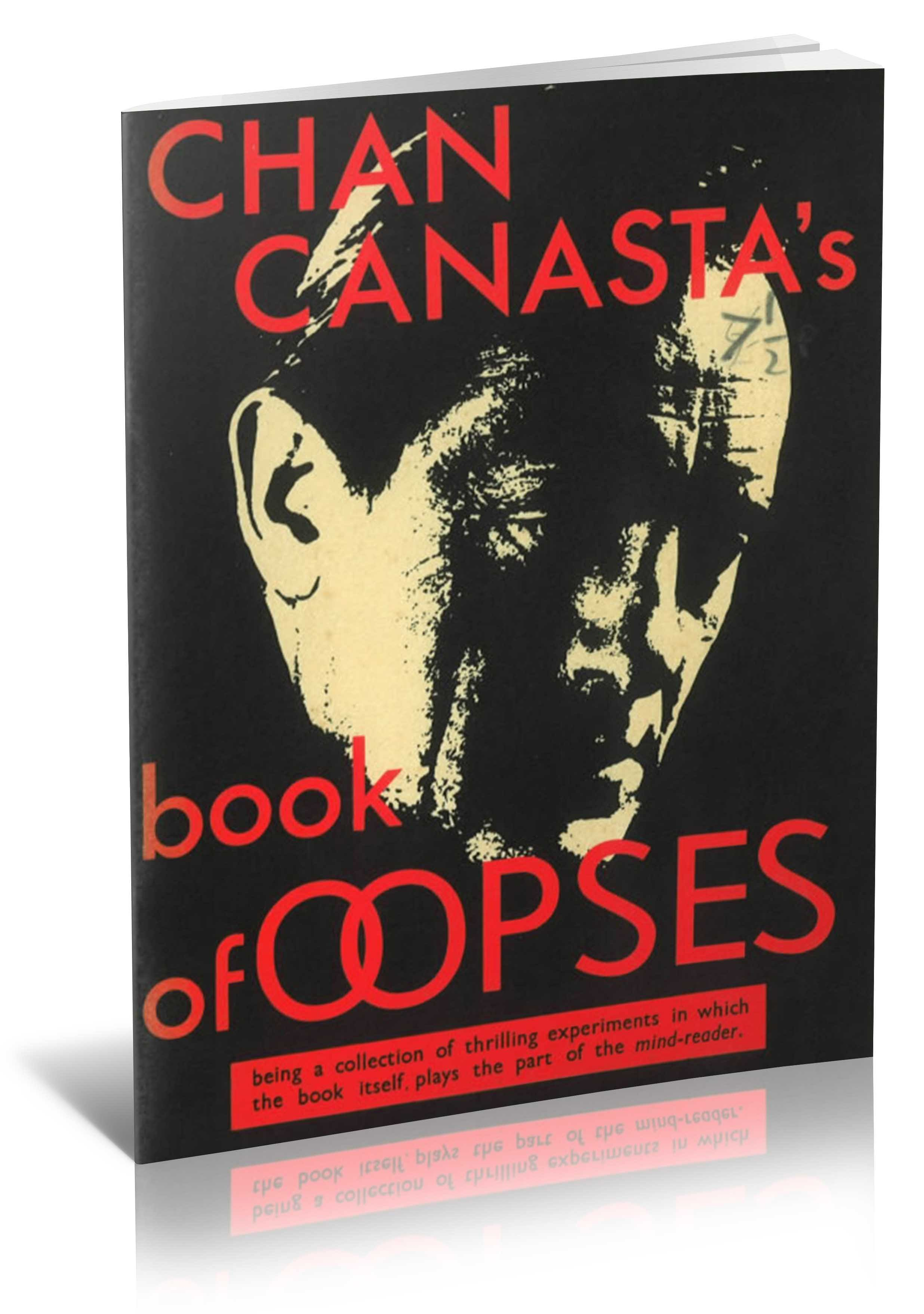 Chan Canasta's Book of Oopses  - magic