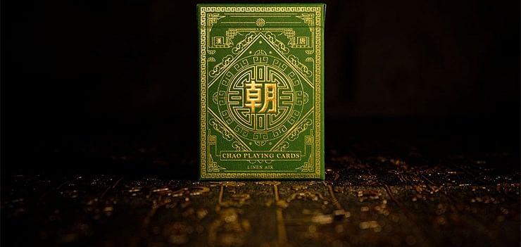 Chao Playing Cards (Jade Green) - magic