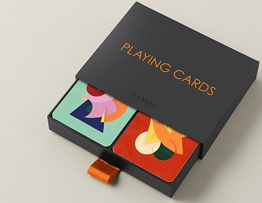 Charlie Oscar Patterson x Yolky Games Playing Cards Collector's Set - magic