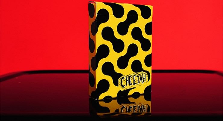 Cheetah Playing Cards - magic