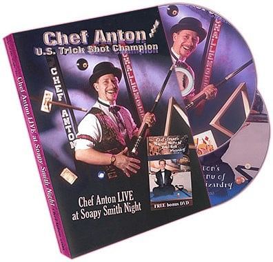 Chef Anton Live at Soapy Smith Night - magic