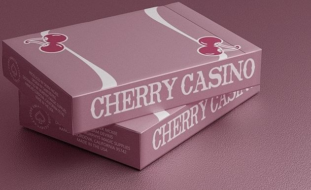 Cherry Casino Flamingo Quartz Playing Cards
