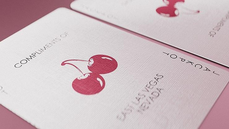 Cherry Casino Flamingo Quartz  Playing Cards