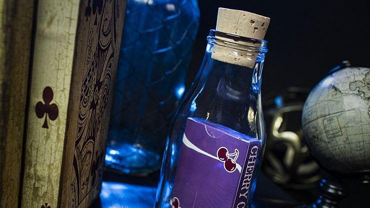 Cherry Casino Fremonts Impossible Bottles - Desert Inn Purple