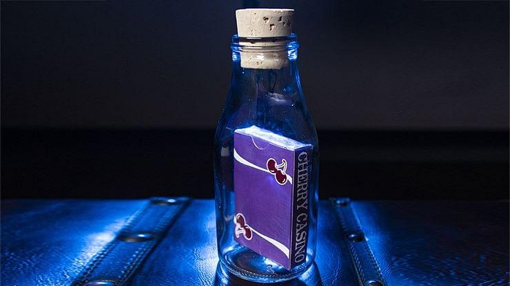 Cherry Casino Fremonts Impossible Bottles - Desert Inn Purple - magic