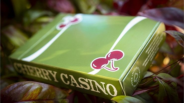 Cherry Casino Fremonts Playing Cards (Sahara Green)