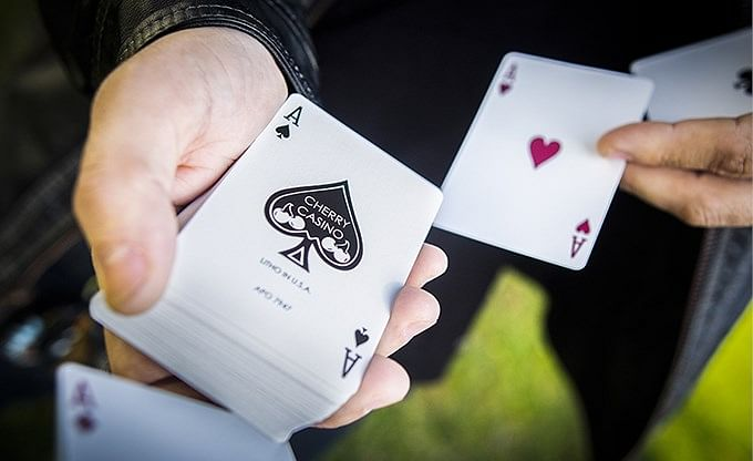 Cherry Casino Fremonts  Playing Cards