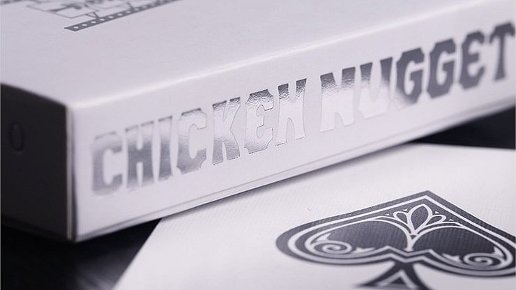 Chicken Nugget Playing Cards - White