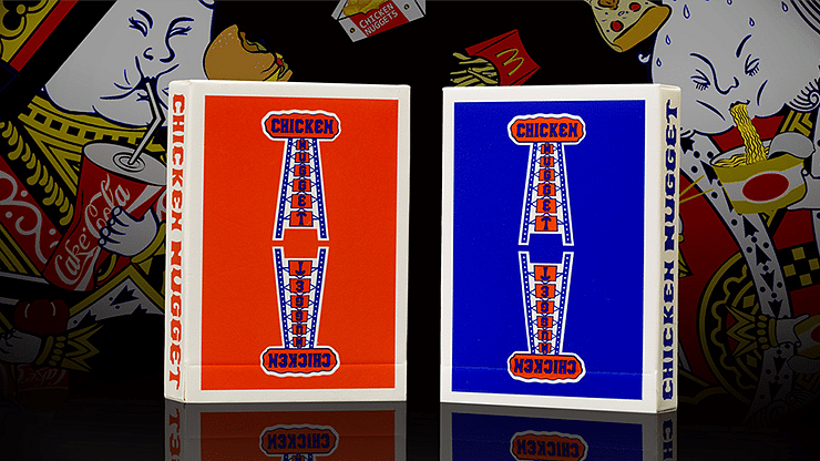 Chicken Nugget Playing Cards - magic