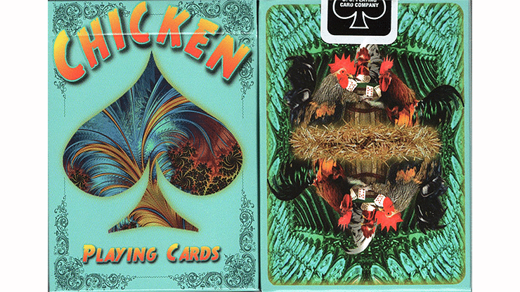 Chicken Playing Cards - magic