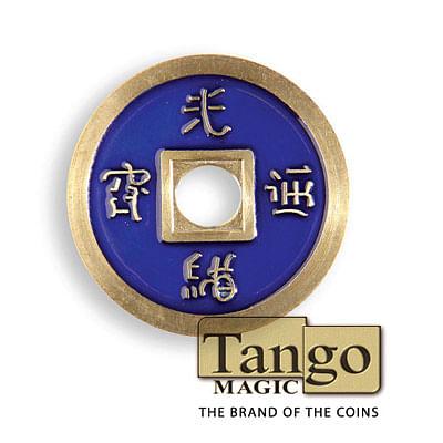 Chinese Coin - Blue - magic