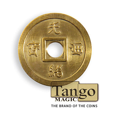 Chinese Coin - Brass - magic