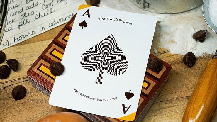 Chocolate Pi Playing Cards