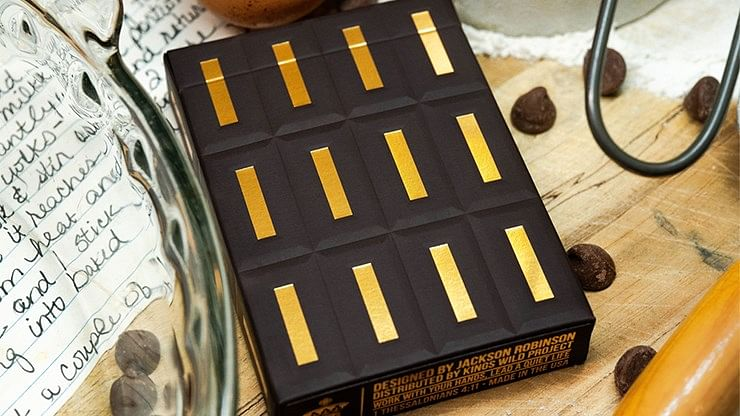 Chocolate Pi Playing Cards - magic