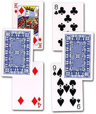 Chop Card - magic