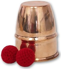 Chop Cups Copper - magic