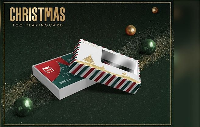 Christmas Playing Cards Collector's Set