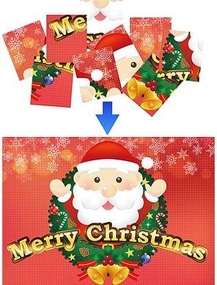 Christmas Puzzle - magic