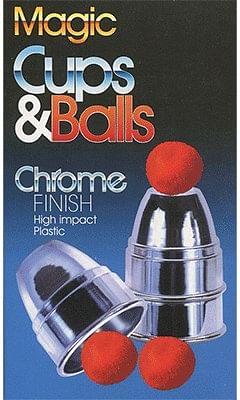 Chrome Cups & Balls - magic