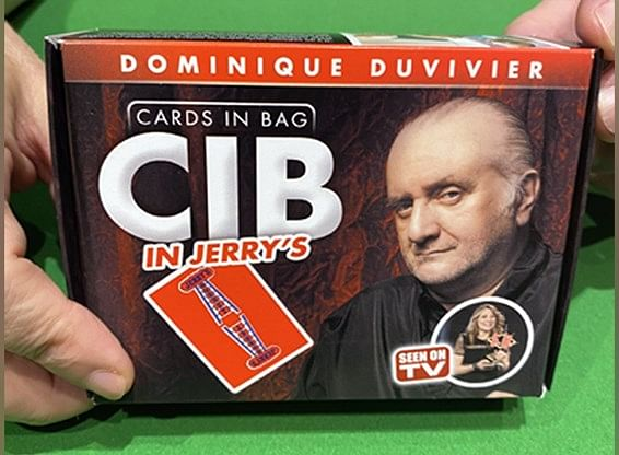 CIB: Jerry's Nugget Cards In Bag