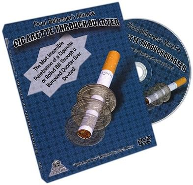Cigarette Through Quarter - magic