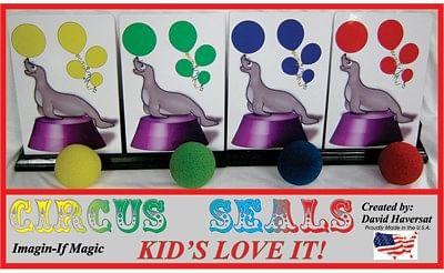 Circus Seals - magic
