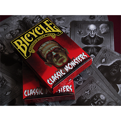 Classic Monsters Playing Cards (Limited Edition Tuck Box) - magic