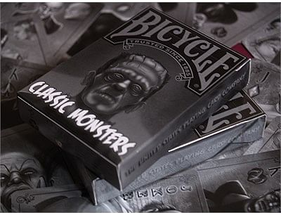 Classic Monsters Playing Cards - magic