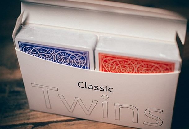 Classic Twins Playing Cards - magic