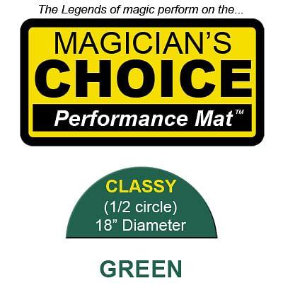 Classy Close-Up Mat (GREEN - 18 inch) - magic