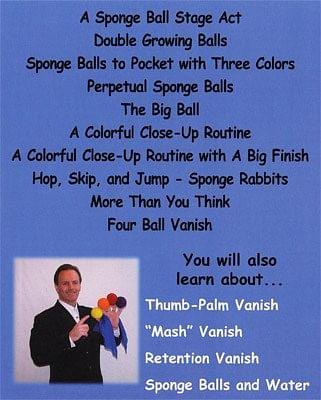 Clever Sponge Ball Magic