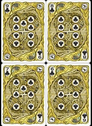 Clockwork La Ville Lumiere Playing Cards