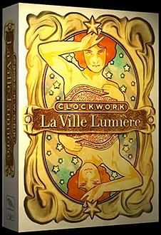 Clockwork La Ville Lumiere Playing Cards - magic