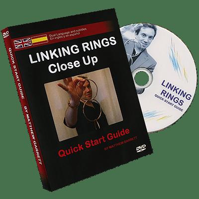 Close Up Linking Rings - magic