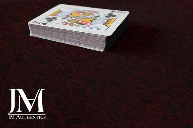 JM Authentics Close Up Pad (Red Thistle Print) - magic