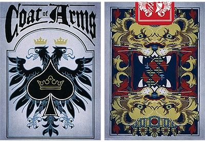 Coat of Arms Playing Cards - magic