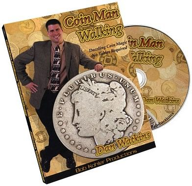 Coin Man Walking - magic