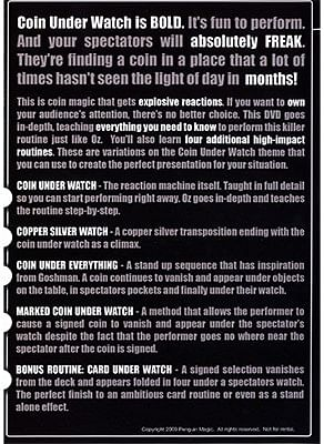 Coin Under Watch