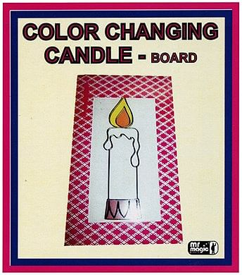 Color Changing Candle - magic