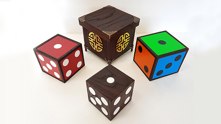 Color Changing Dice - magic