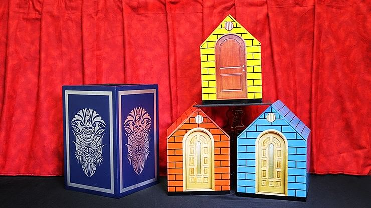 Color Changing Doll House - magic