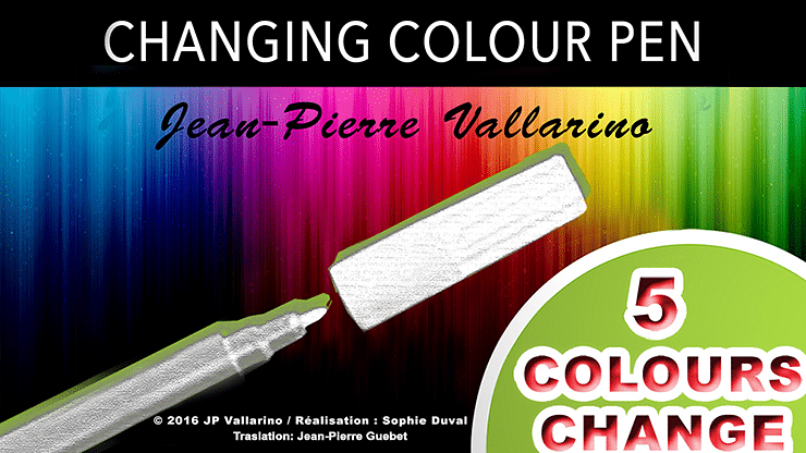 Color Changing Pen - magic