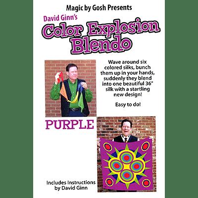 """Color Explosion Blendo Set - Purple 36"""" - magic"""