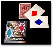 Color Monte trick - magic