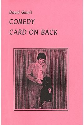Comedy Card On Back - magic