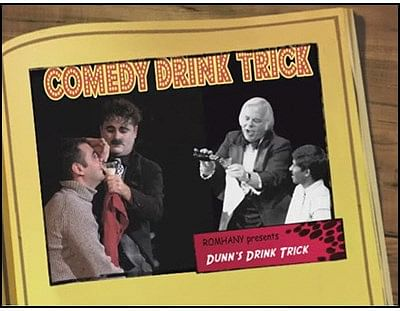 Comedy Drink Trick - magic