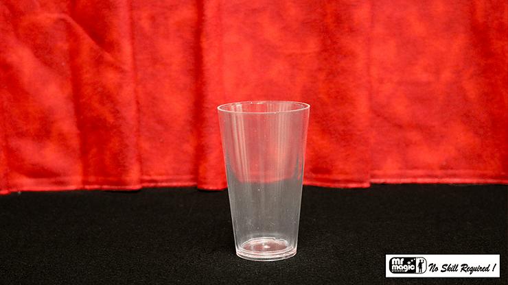 Comedy Glass in Paper Cone - magic